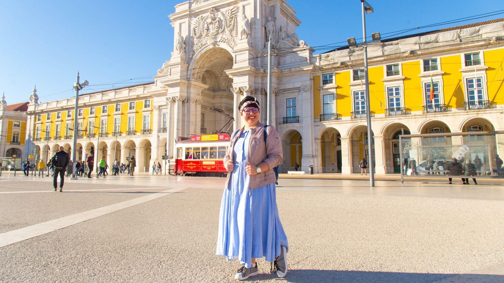 Viktorija Urbonaitė Lisabonoje