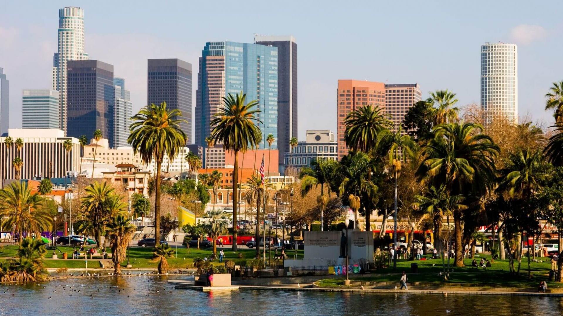 Los Andželo žavesys