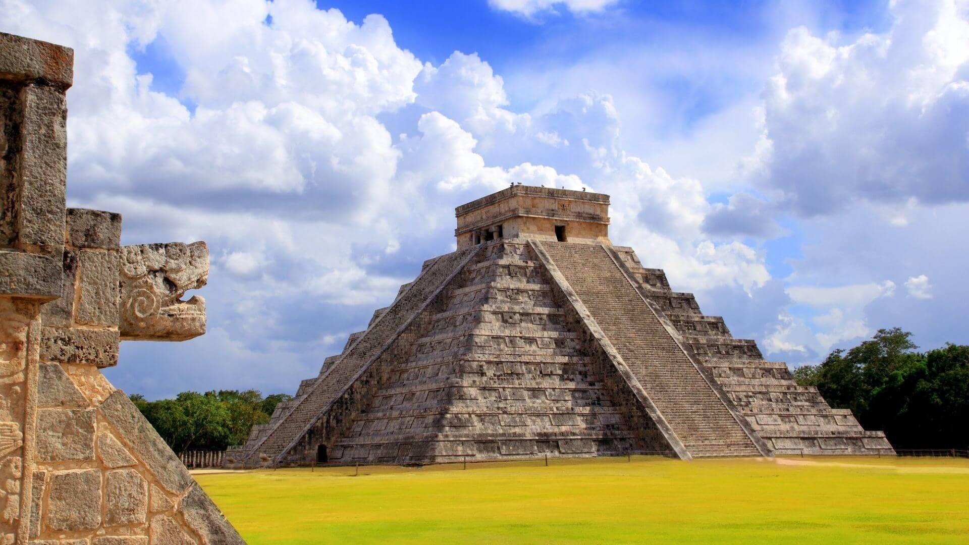 Majų cizilizacijos palikimas - Kukulkan piramidė