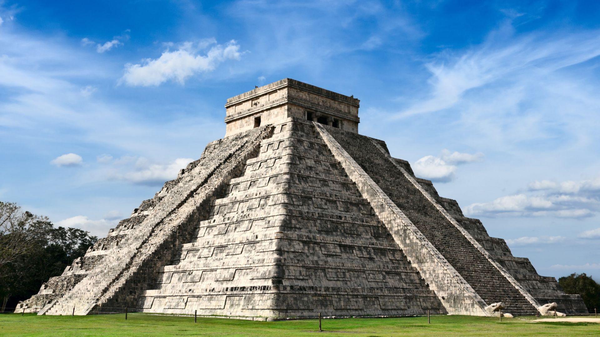 Majų palikimas - senosios piramidės