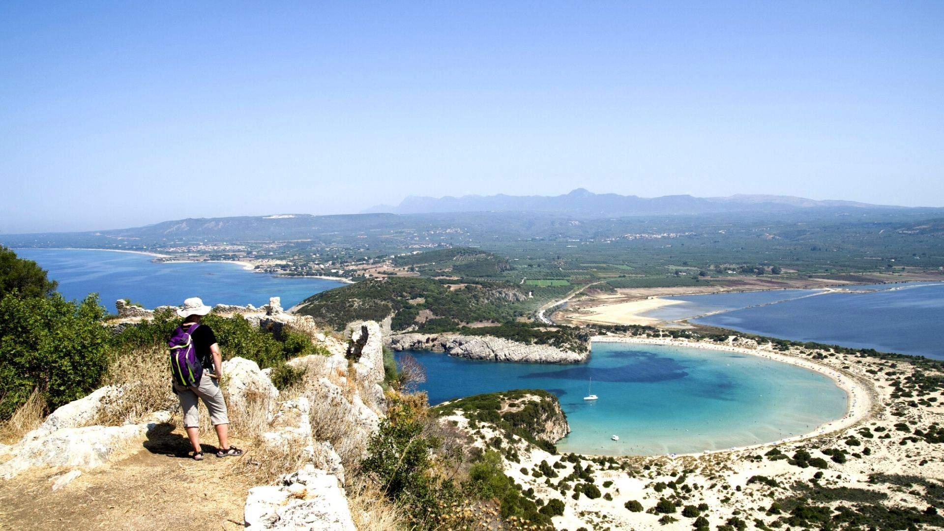Mėgaukitės paplūdimiais ir įlankomis - čia vien iš gražiausių lagūnų Peloponese