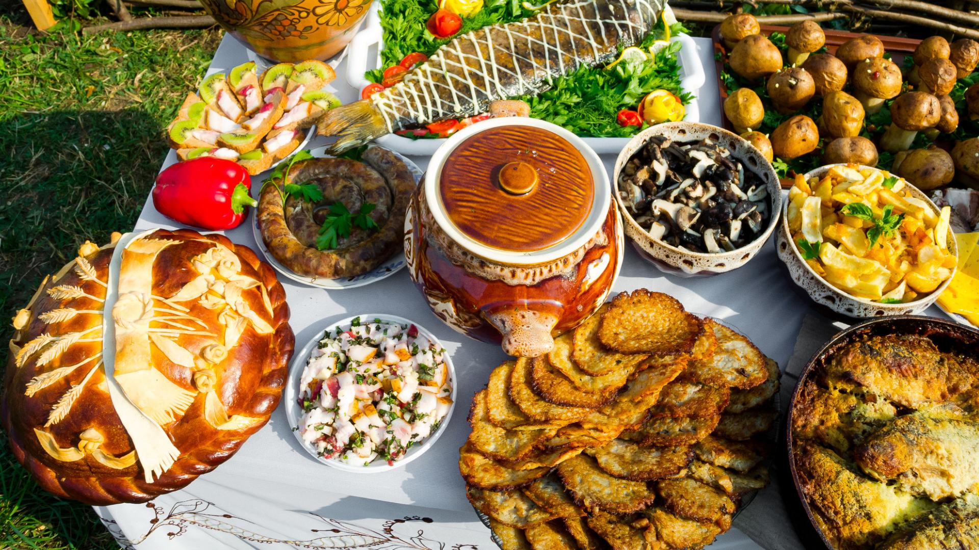 Neužmirškite pasimėgauti ir ukrainietiška virtuve