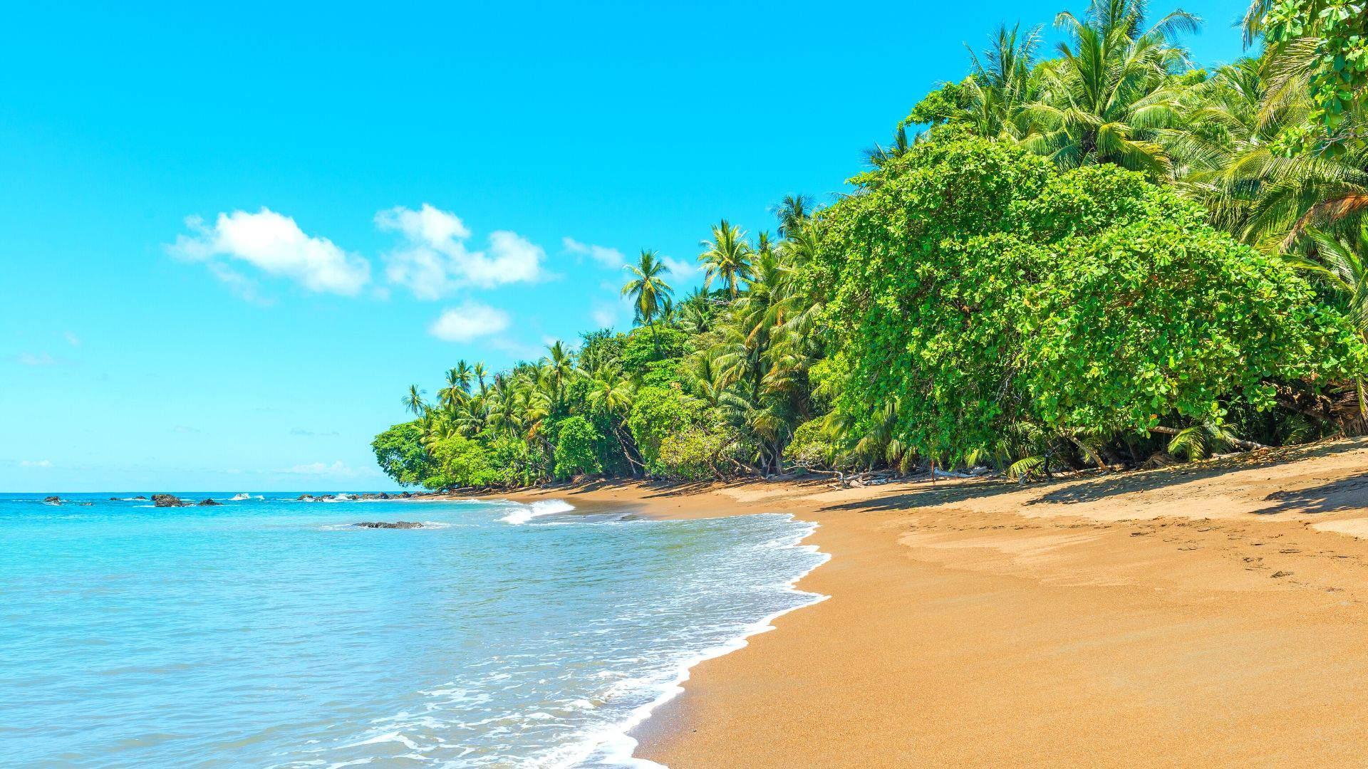 Niekam neprilygstantys Kosta Rikos paplūdimiai