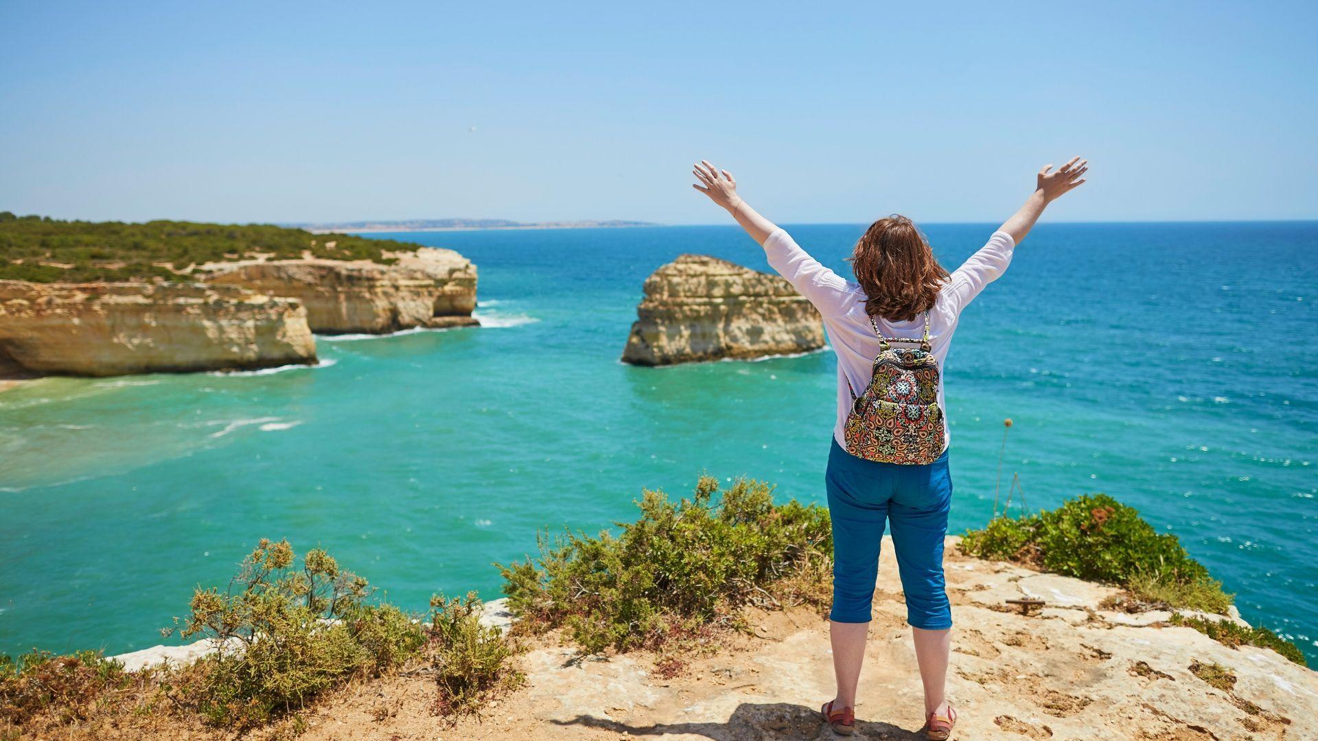 Nuostabi Algarvės panorama