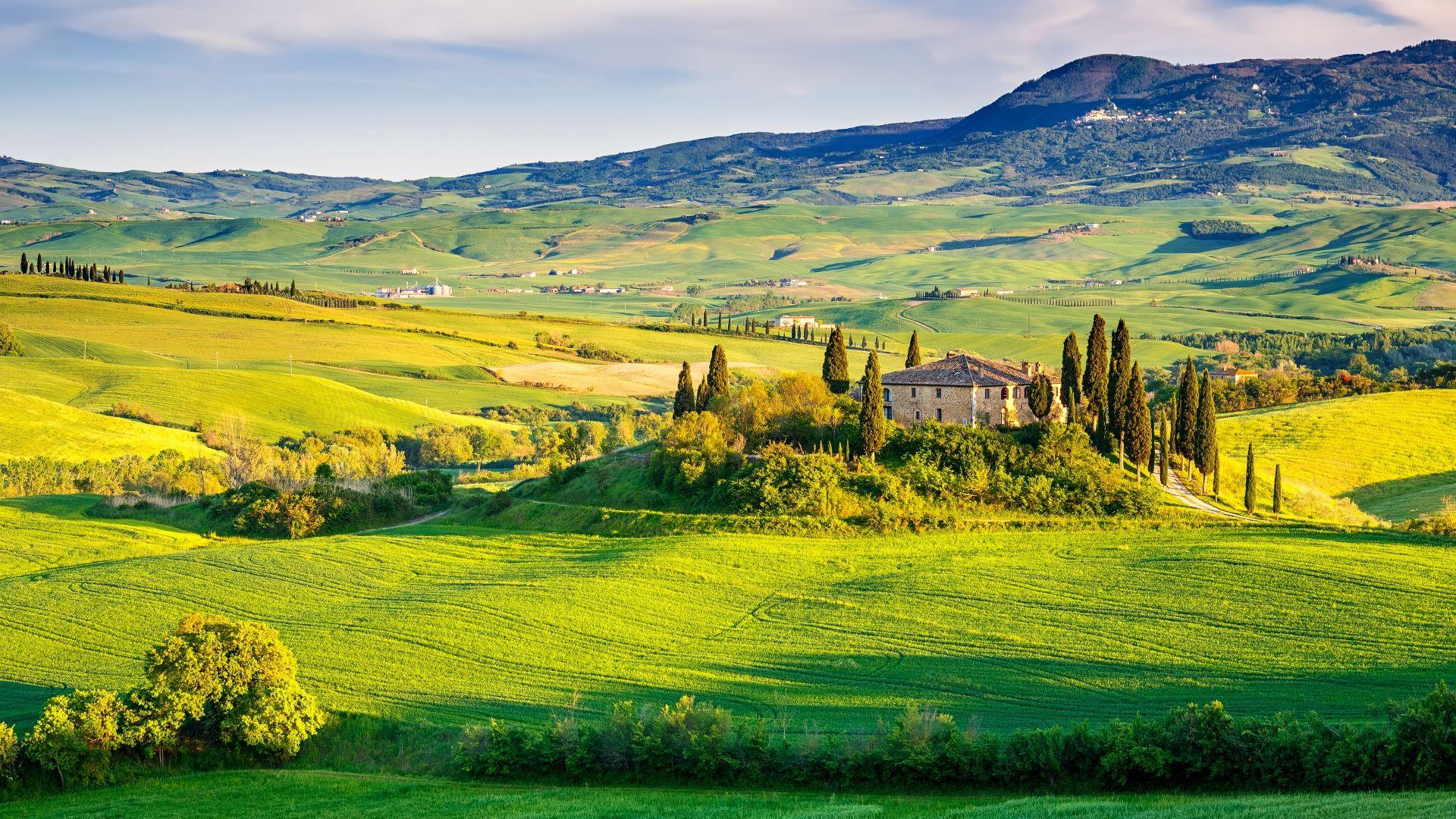 Nuostabusis Toskanos regionas