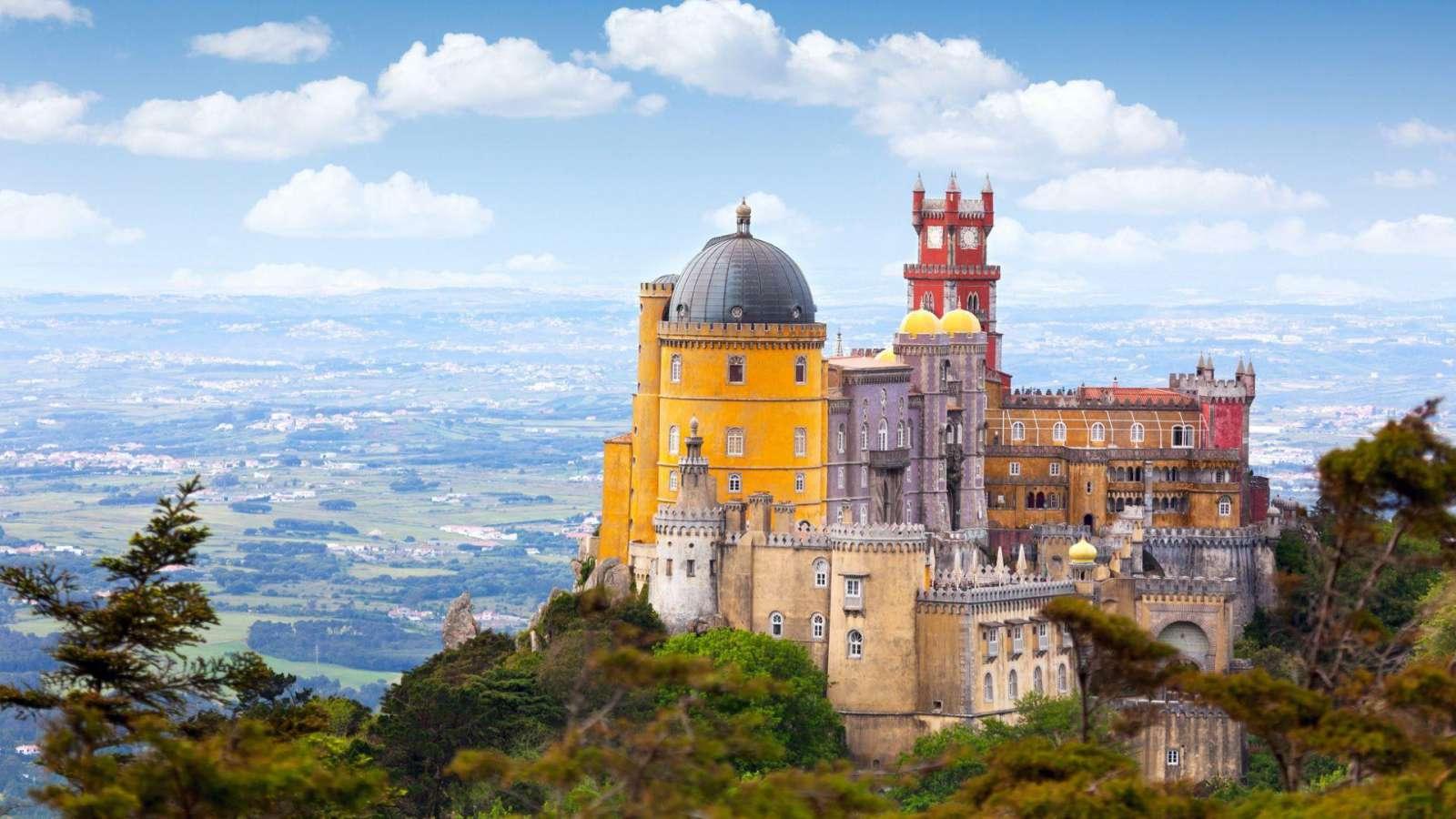 Palcio da Pena - Sintra, Lisabona