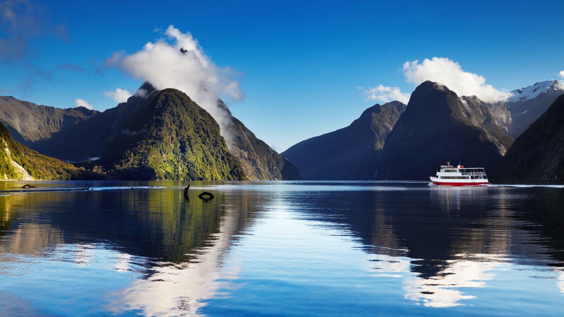 """Milford Sound"" fjordai"