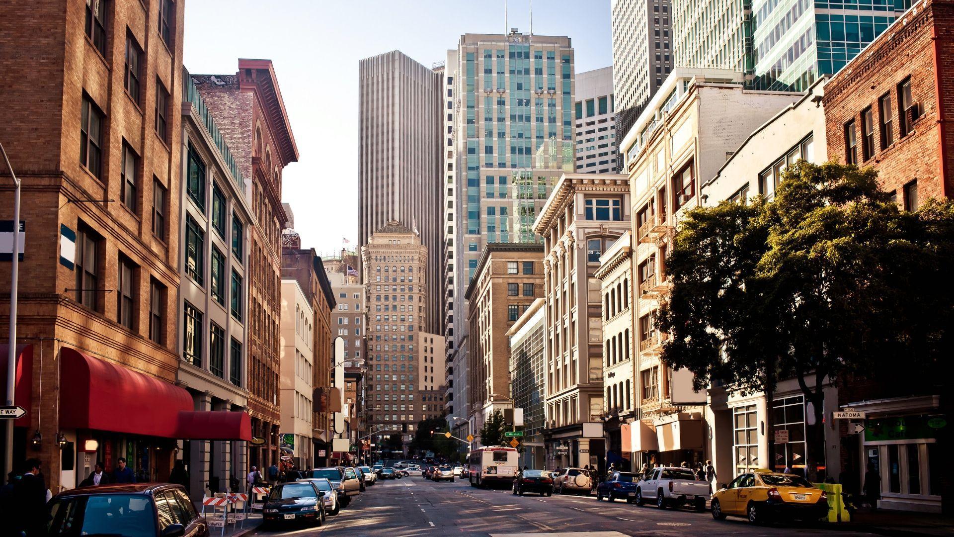 Pamatykite San Francisko miestą