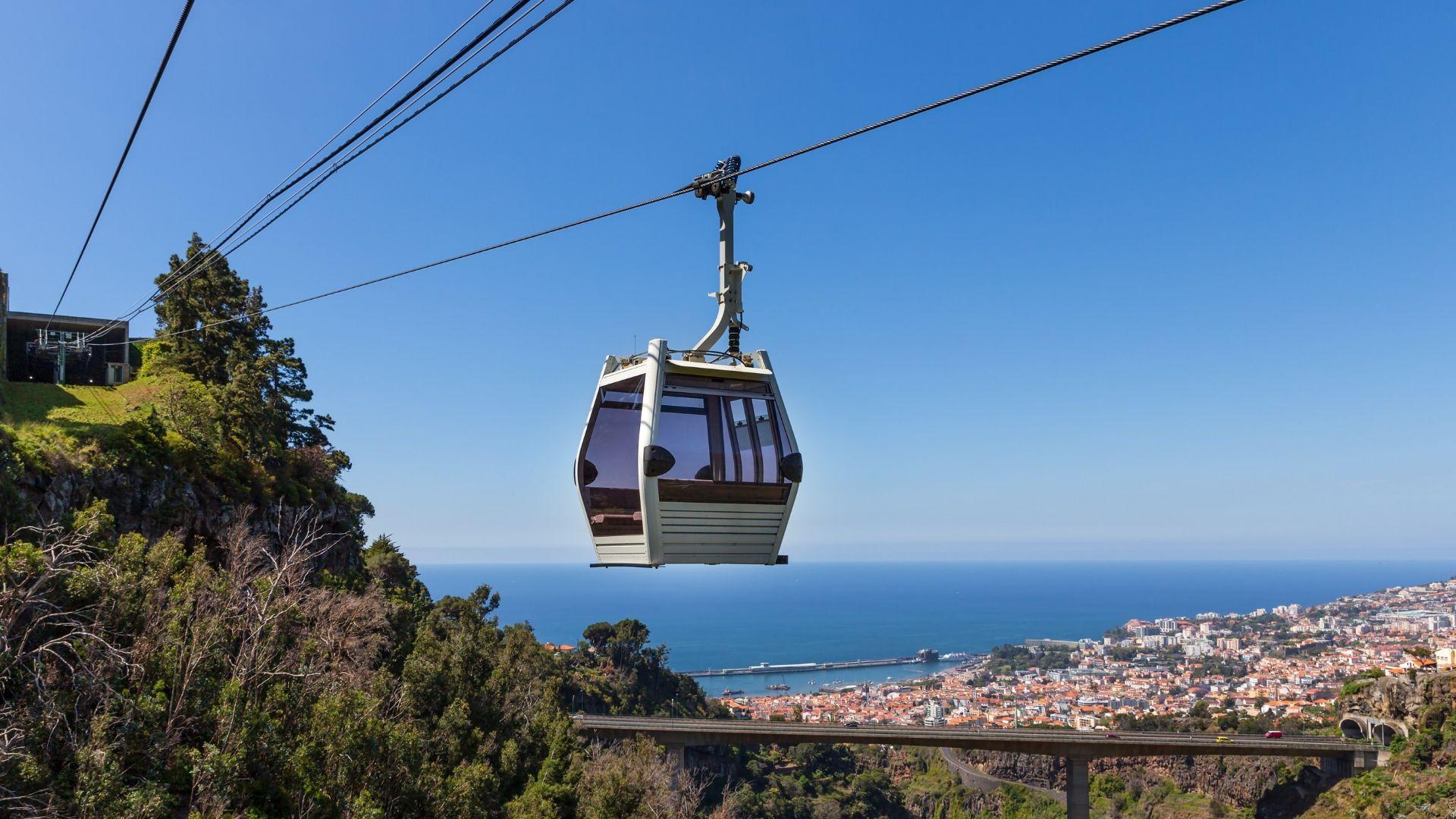 Pamatykite nuostabią Madeiros panoramą