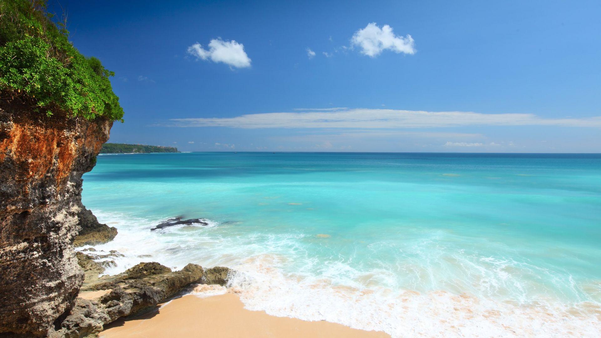 Įspūdingas paplūdimys Balio saloje