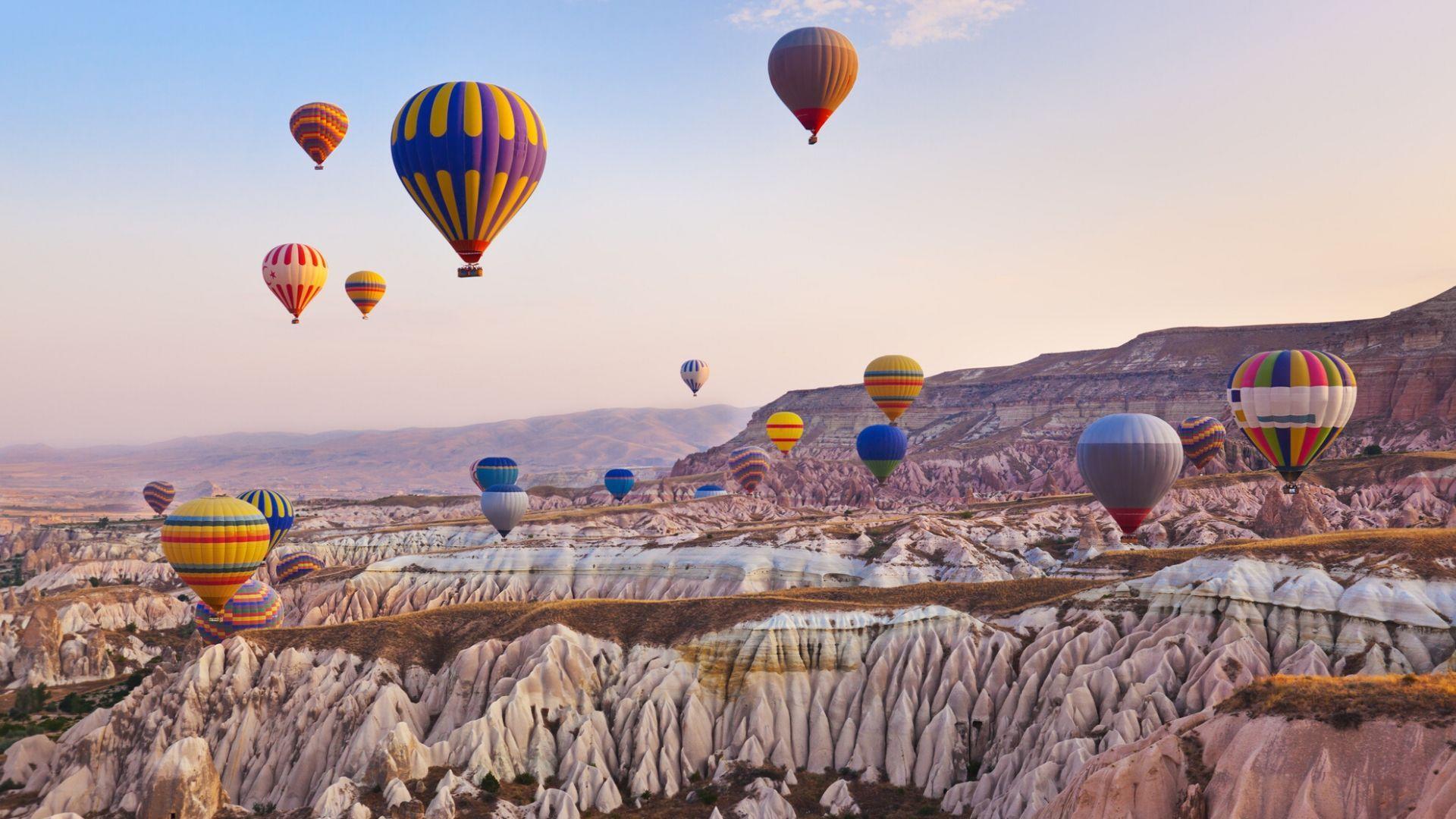 Pasakiško grožio vaizdai Kapadokijoje