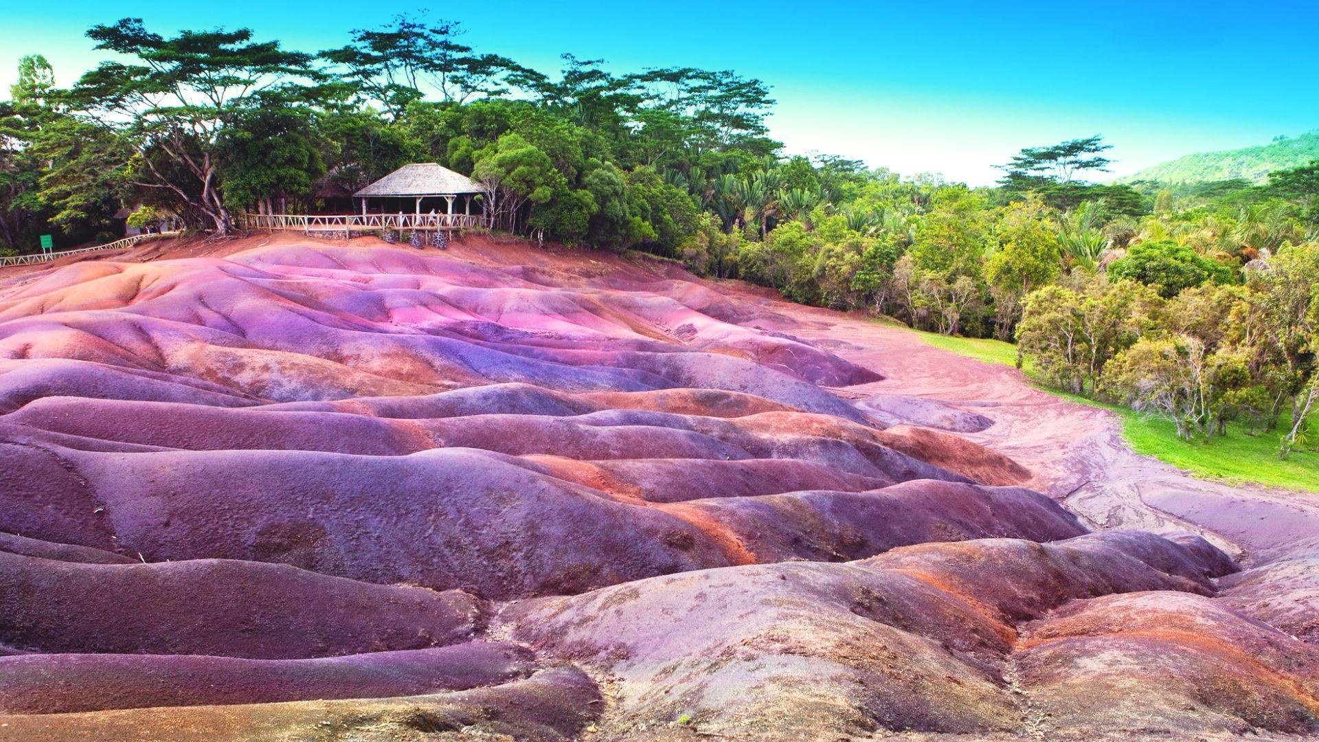 Paslaptingoji septynių spalvų žemė