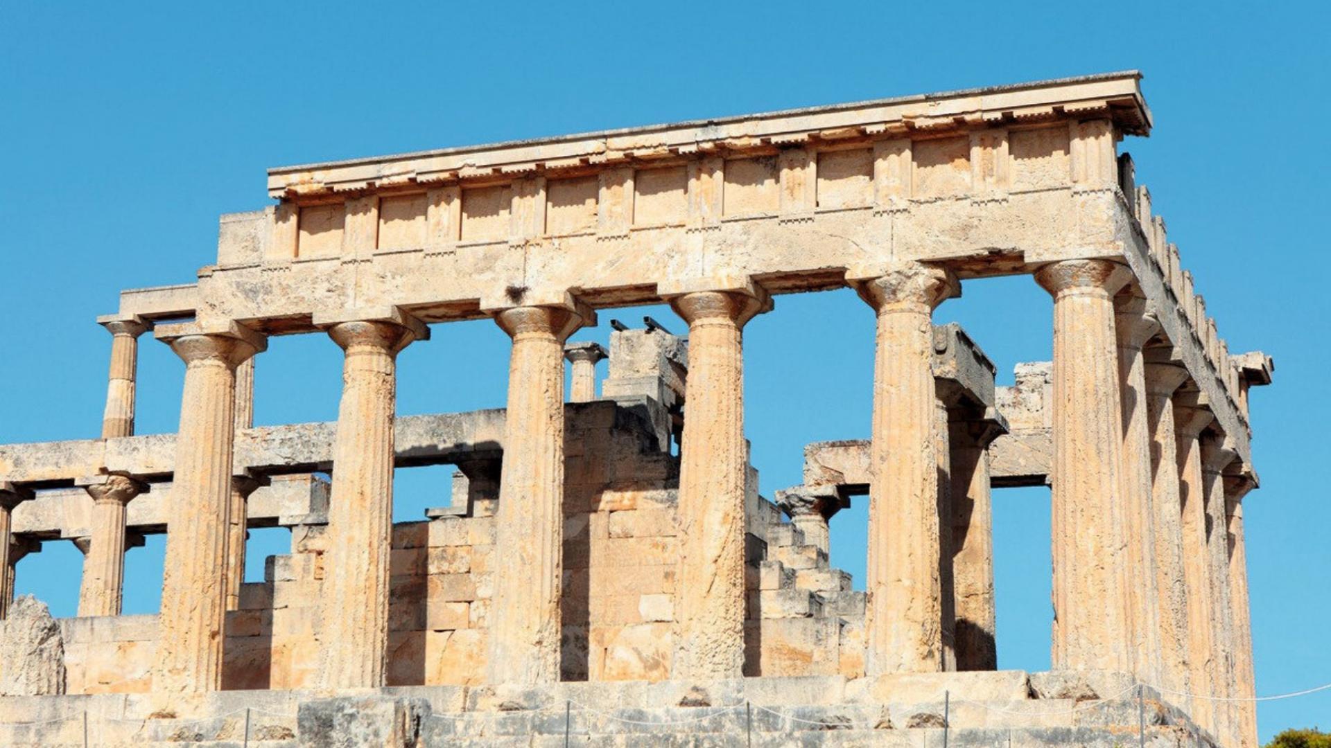 Pažintinės kelionės į Graikiją metu aplankysite Afajos šventyklą