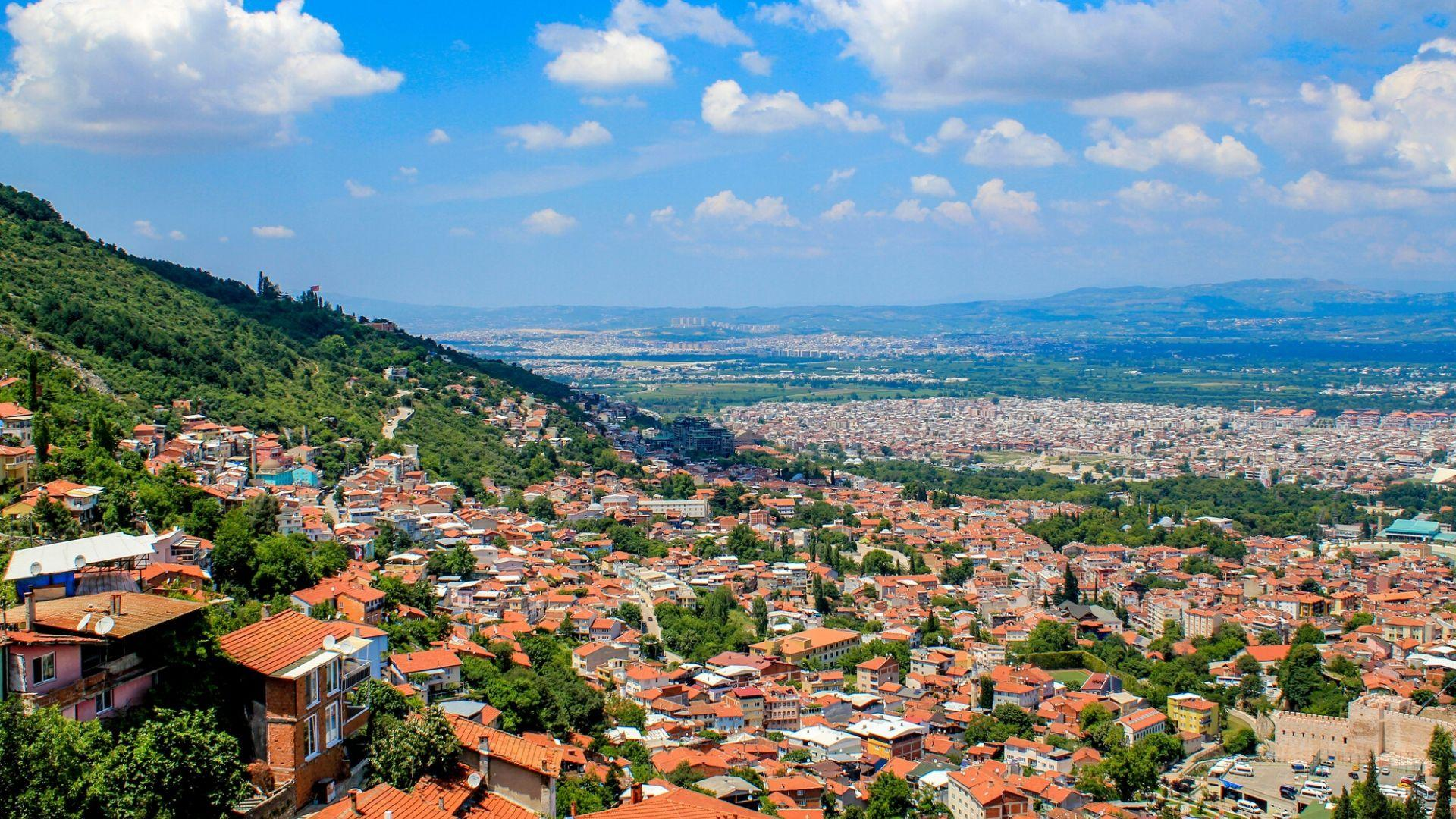Pažintinės kelionės į Turkiją metu aplankysite Bursą - pirmąją Osmanų imperijos sostinę