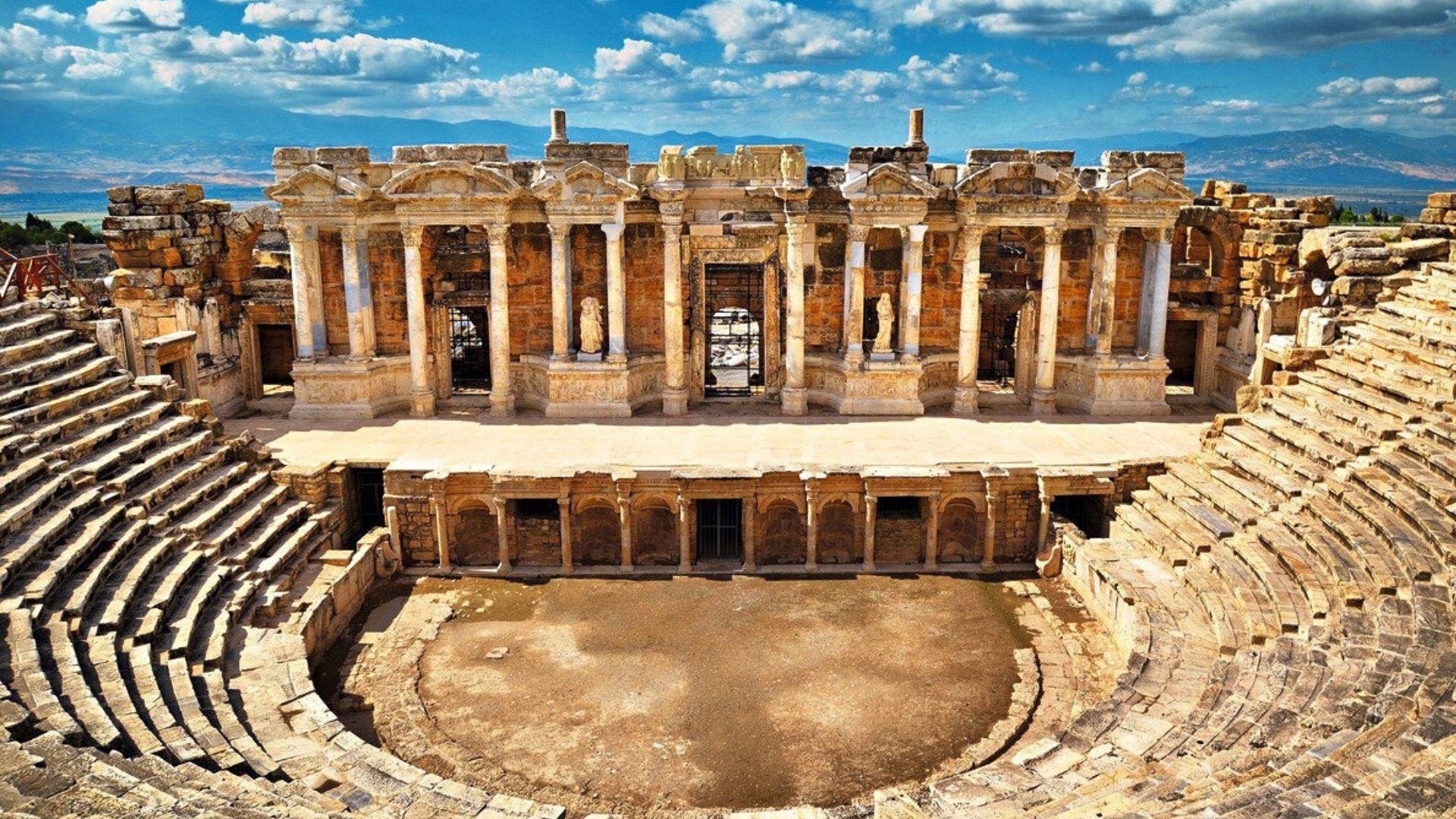 Pažintinės kelionės po Turkiją metu aplankysite antikinį miestą Hierapolį