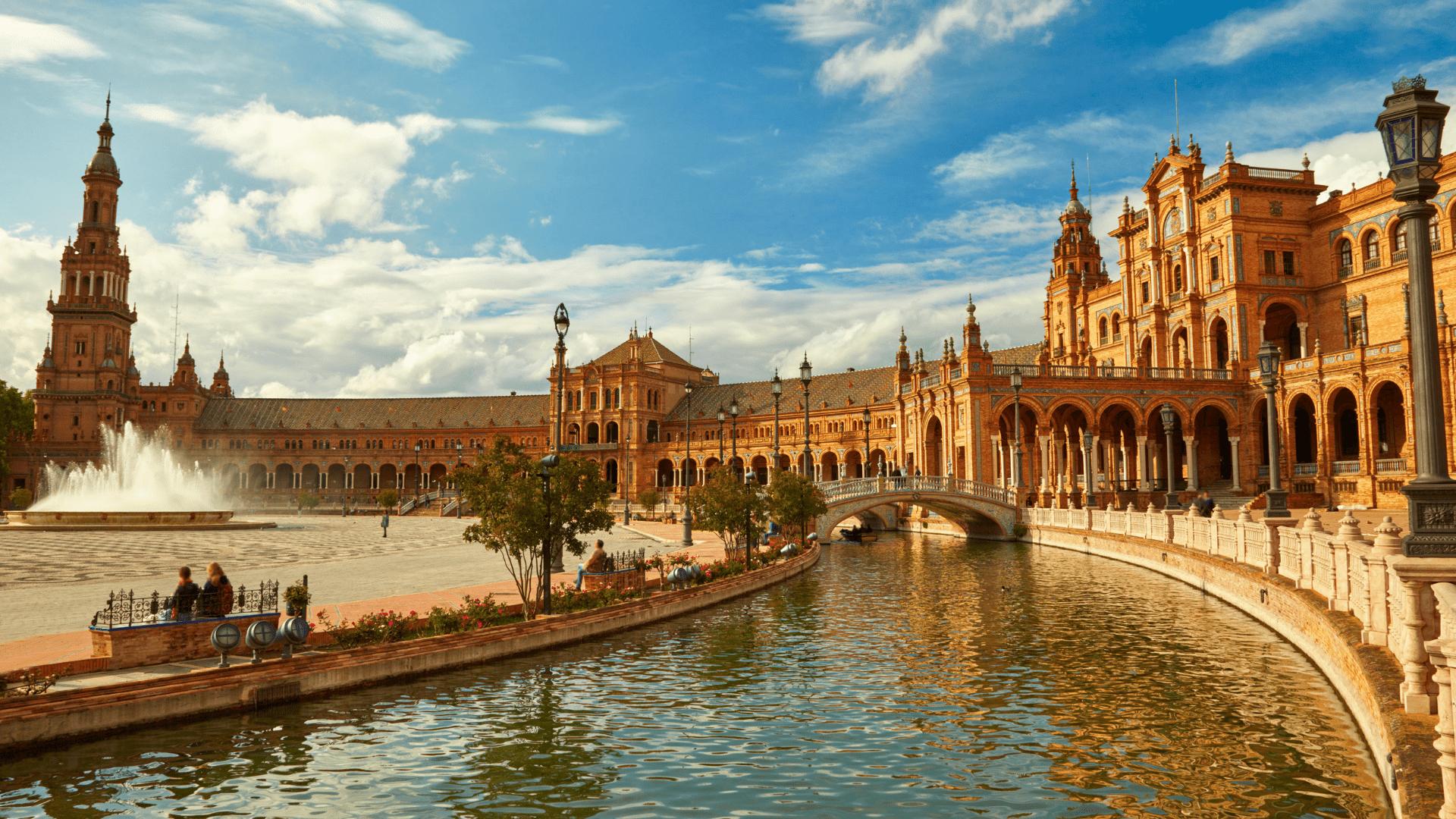 Įspūdingoji Plaza de Espana