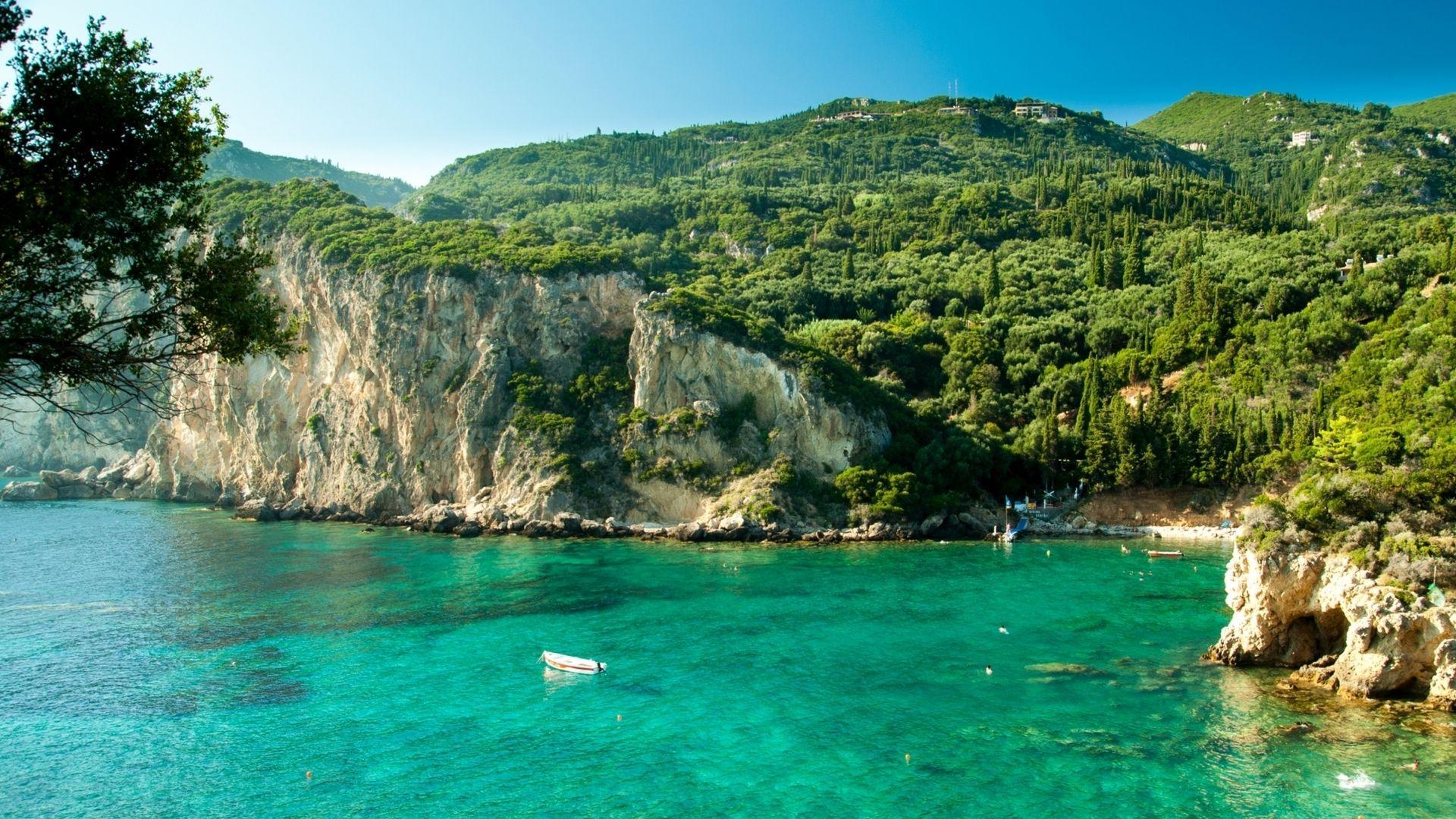 Poilsis Korfu saloje