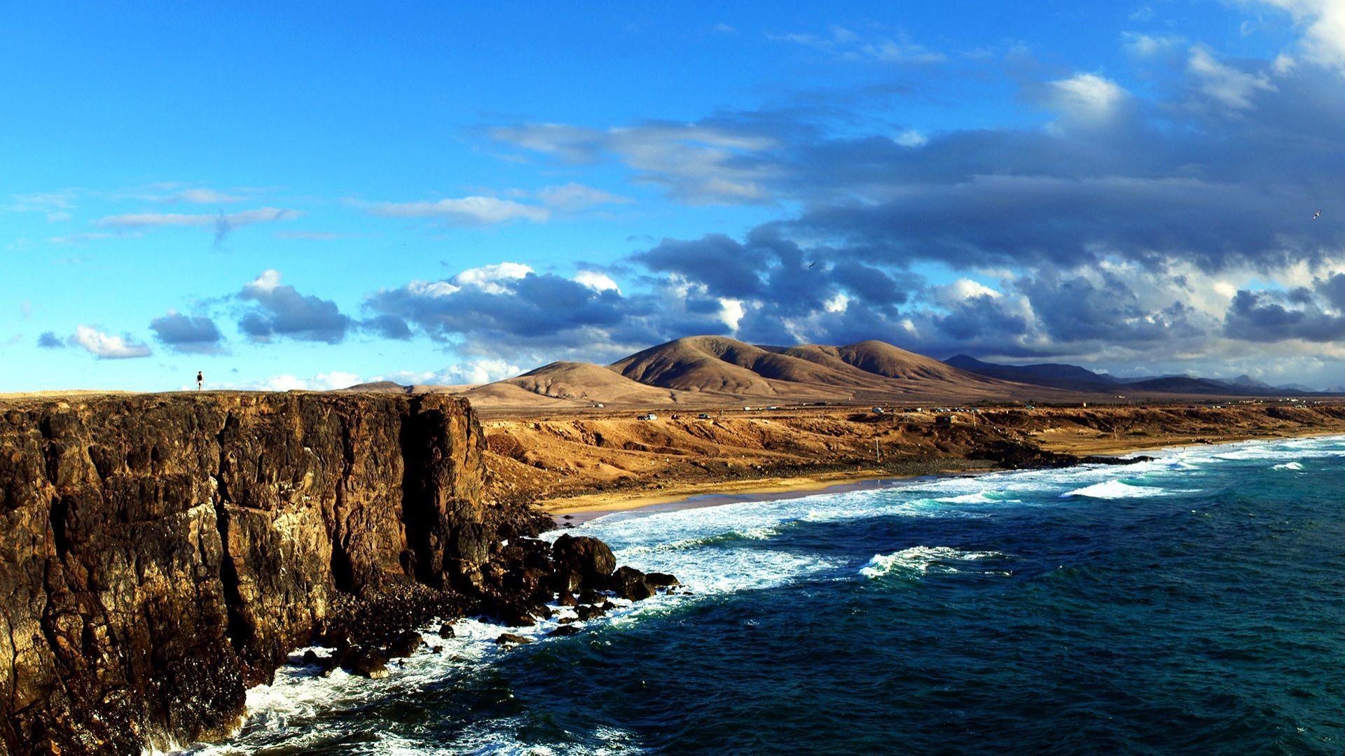 Pribloškianti Fuerteventūros pakrantė