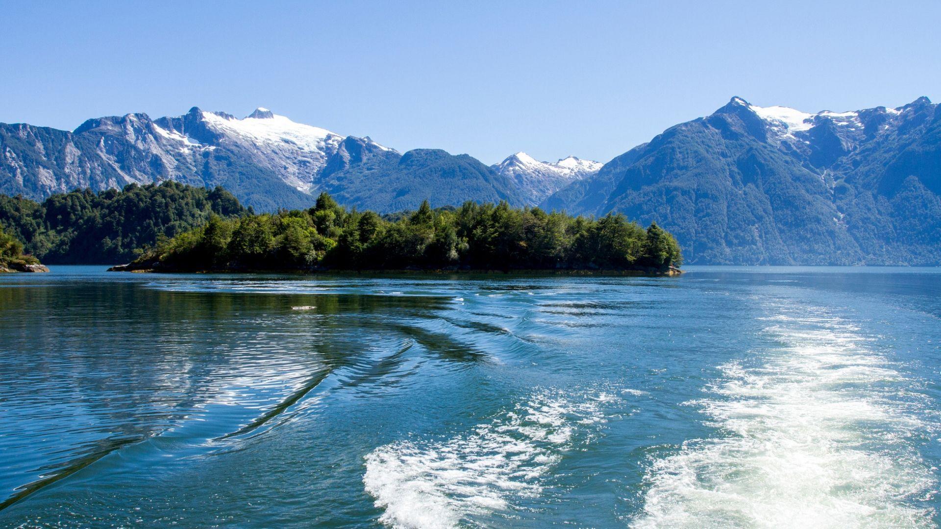 Pribloškiantis Čilės fjordų grožis