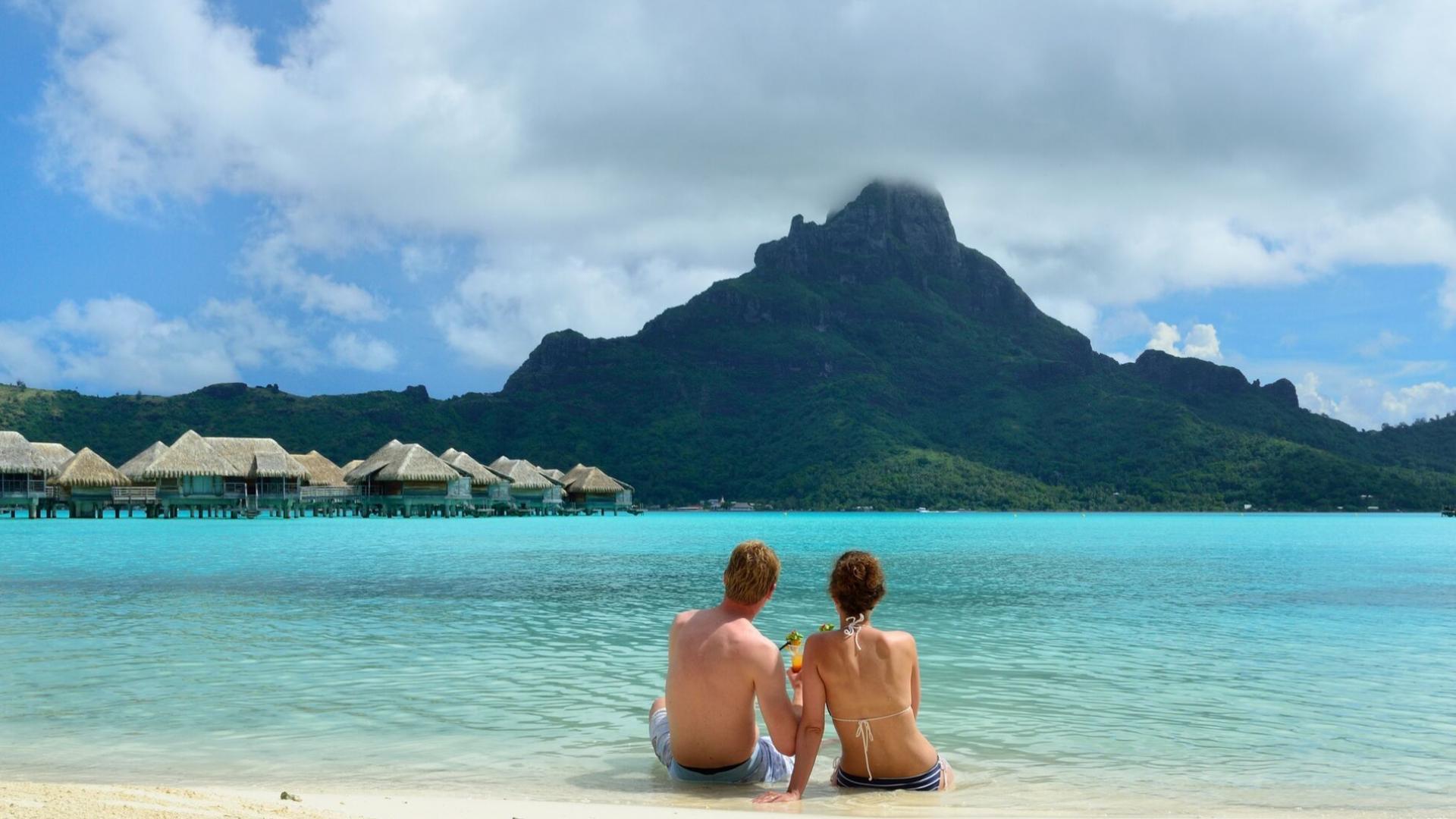 Romantiškas laikas Bora Bora saloje