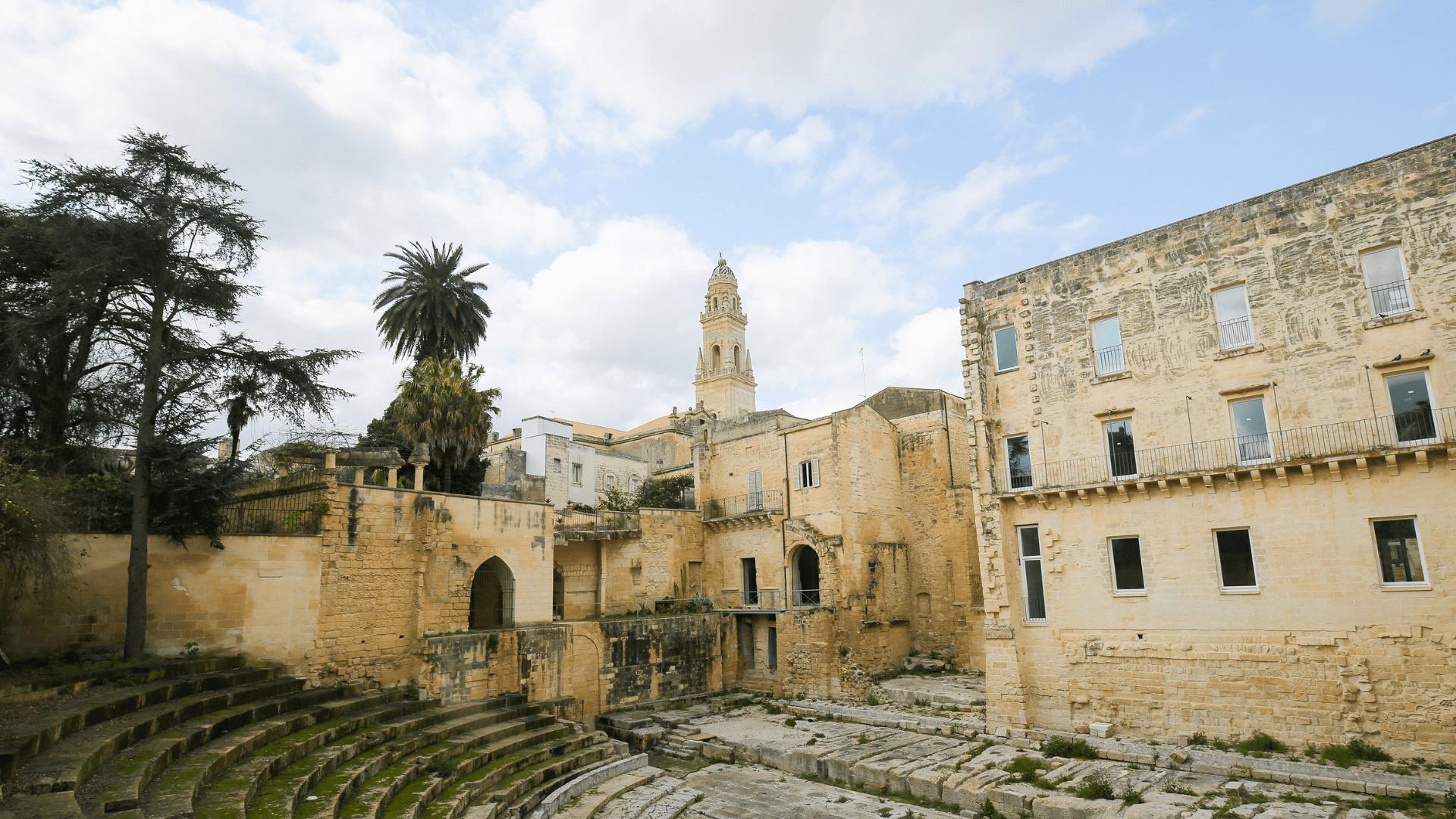 Senovinis romėnų teatras Lečėje