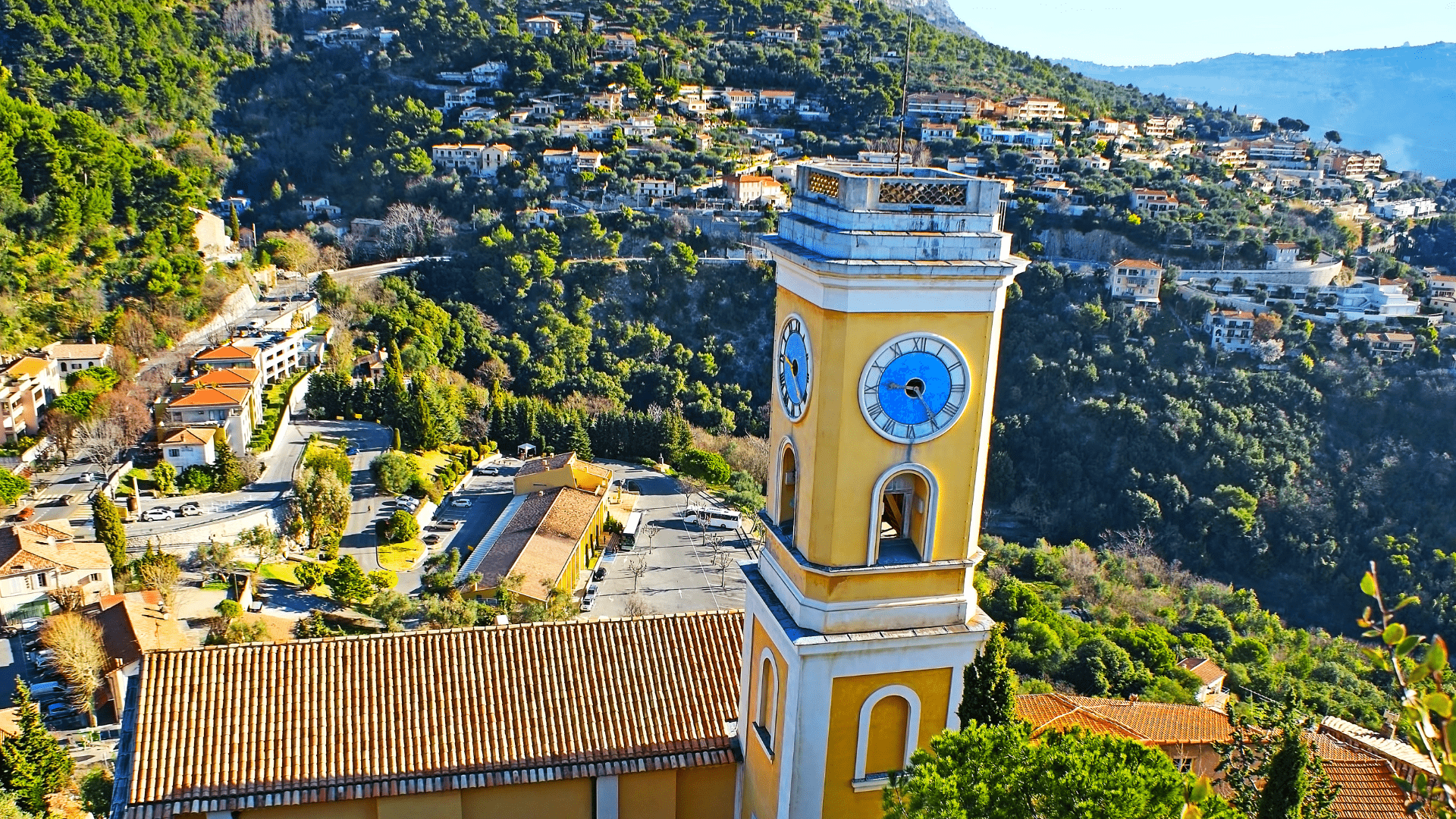Senasis Ezo bažnyčios bokštas