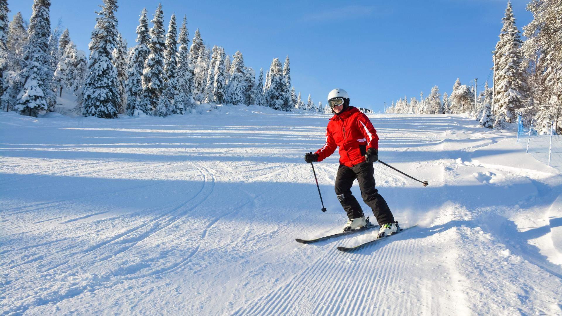 Slidinėjimo džiaugsmai Laplandijoje