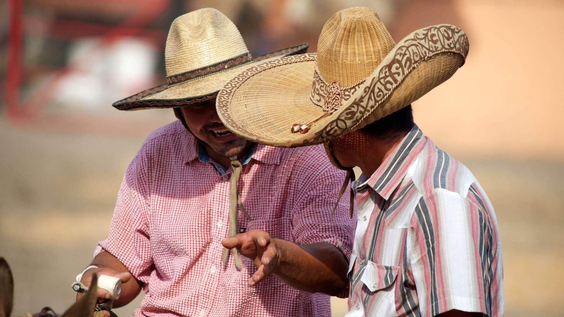 Sombrero - dar vienas Meksikos atributas