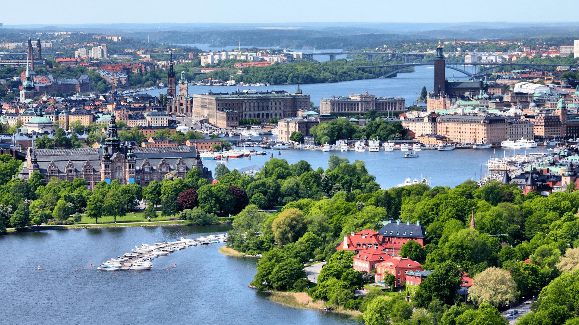Kvapą gniaužianti Stokholmo panorama