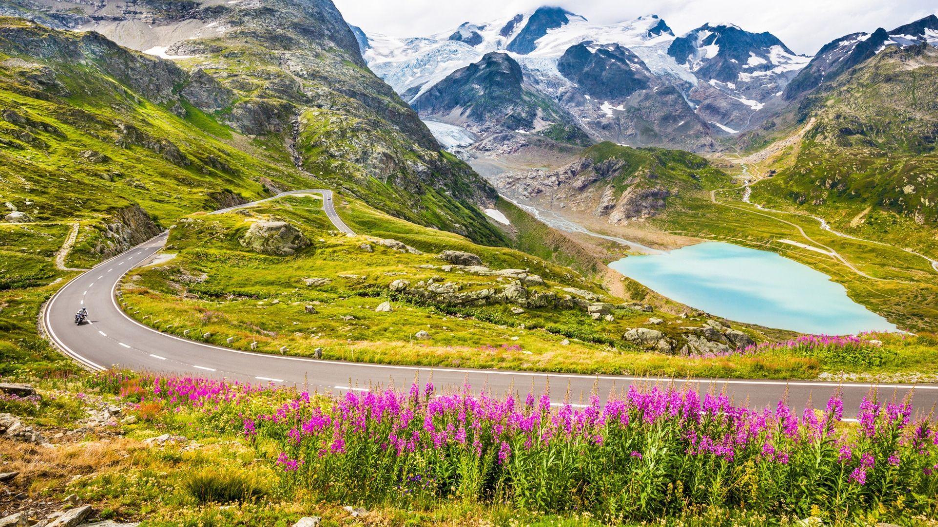 Stulbinanti Alpių panorama