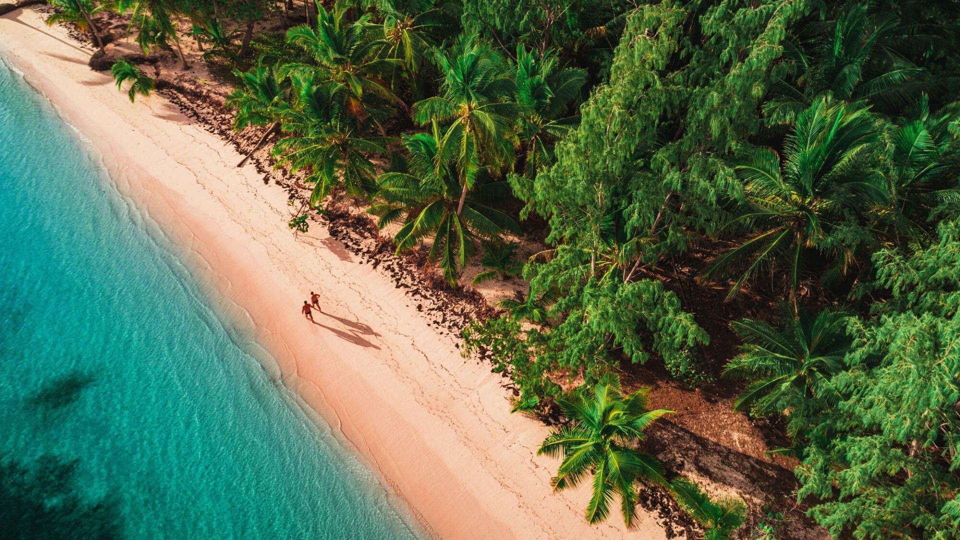 Nuostabūs laukiniai paplūdimiai Dominikos Respublikoje