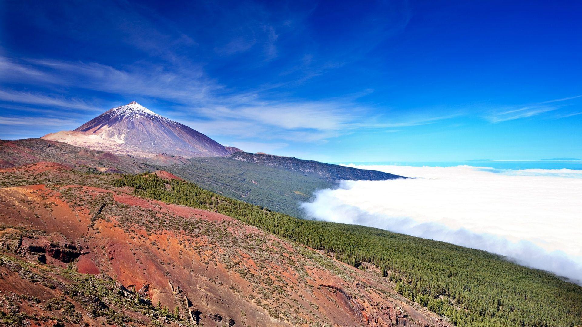 """""""Teide"""" ugnikalnis, Tenerifė"""