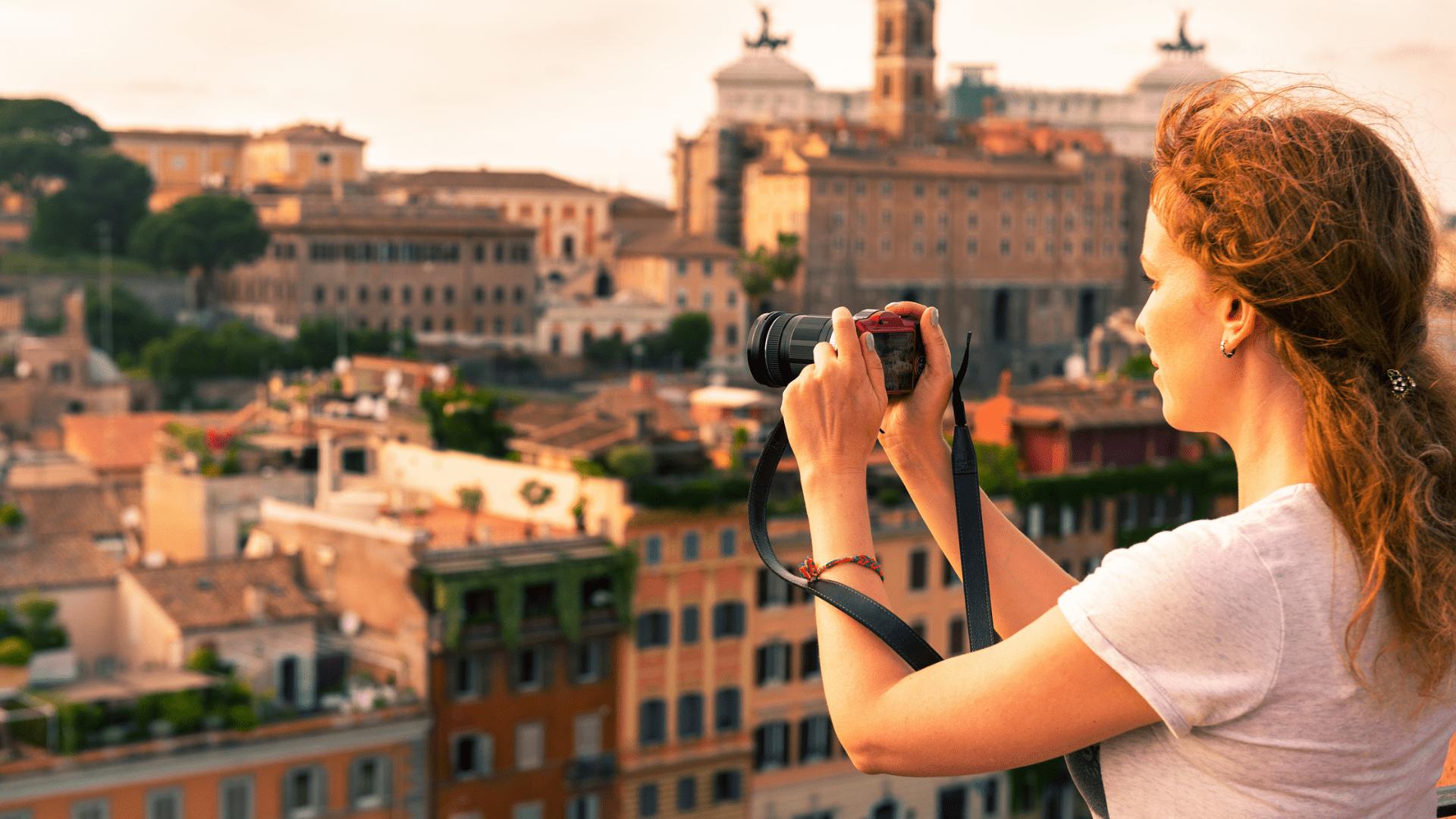 Kelionės akimirka Romoje