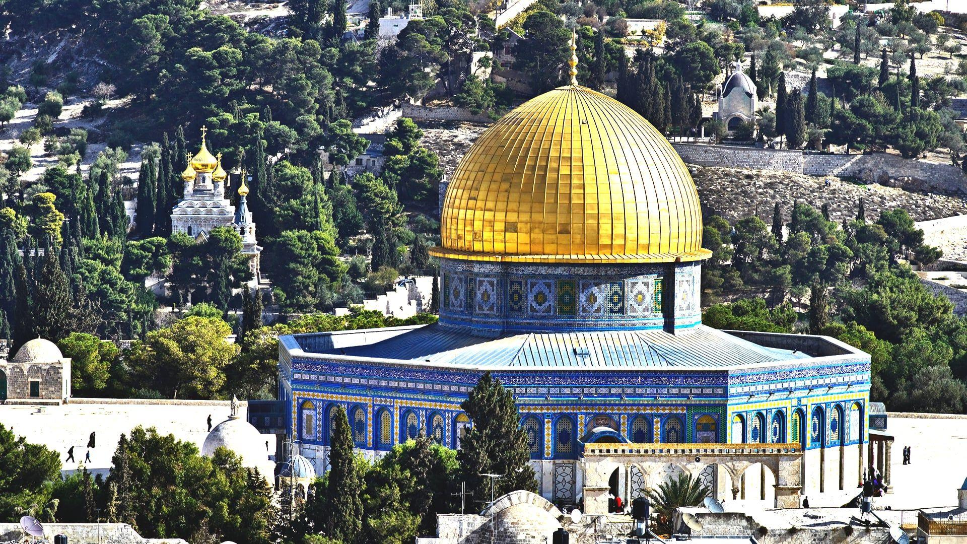 Uolos kupolo šventykla, Jeruzalė