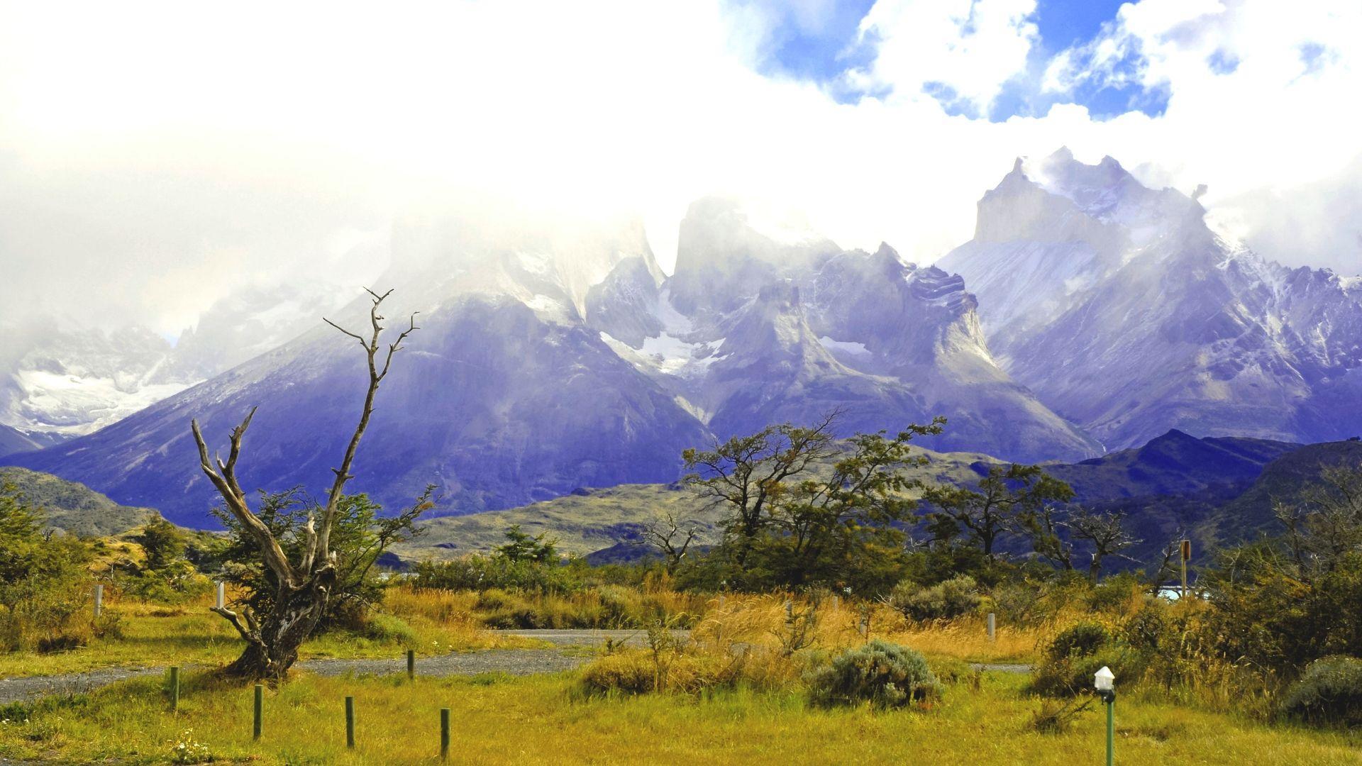 Užburiantis kalnų grožis