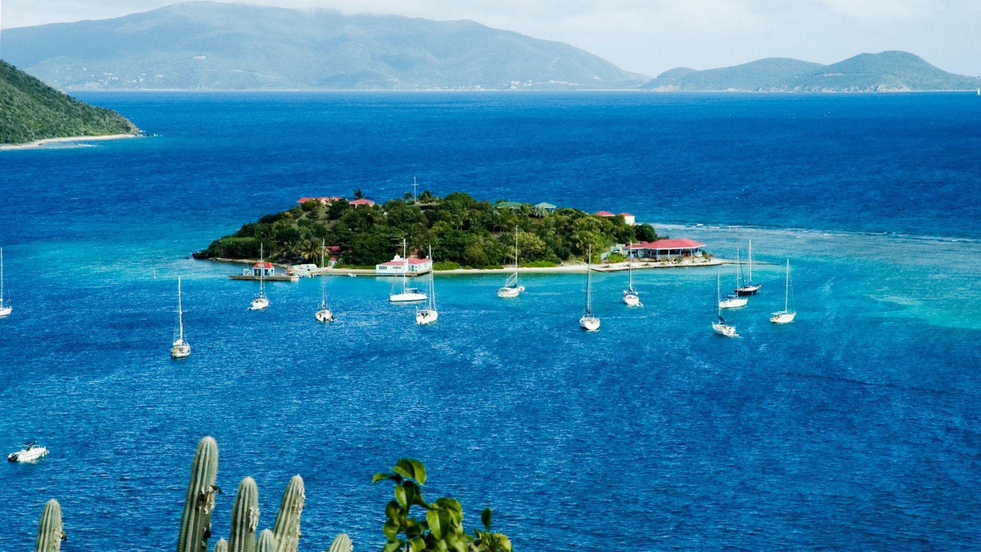 Valčių prieplauka Mergelių salose