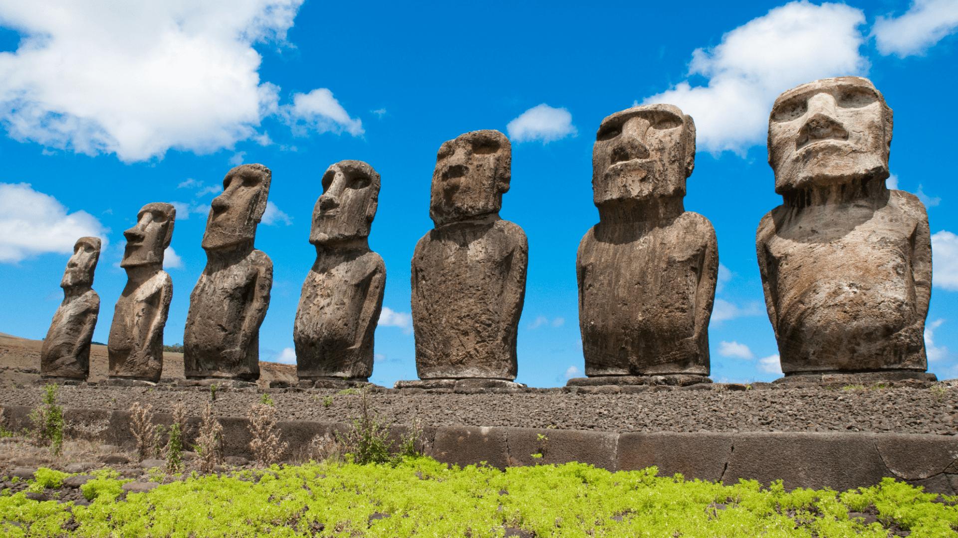 Viena paslaptingiausių pasaulio vietų - Velykų sala