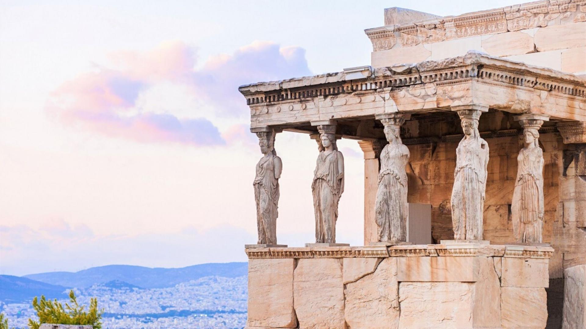 Viena žymiausių lankytinų vietų Atėnuose - Erechtėjonas
