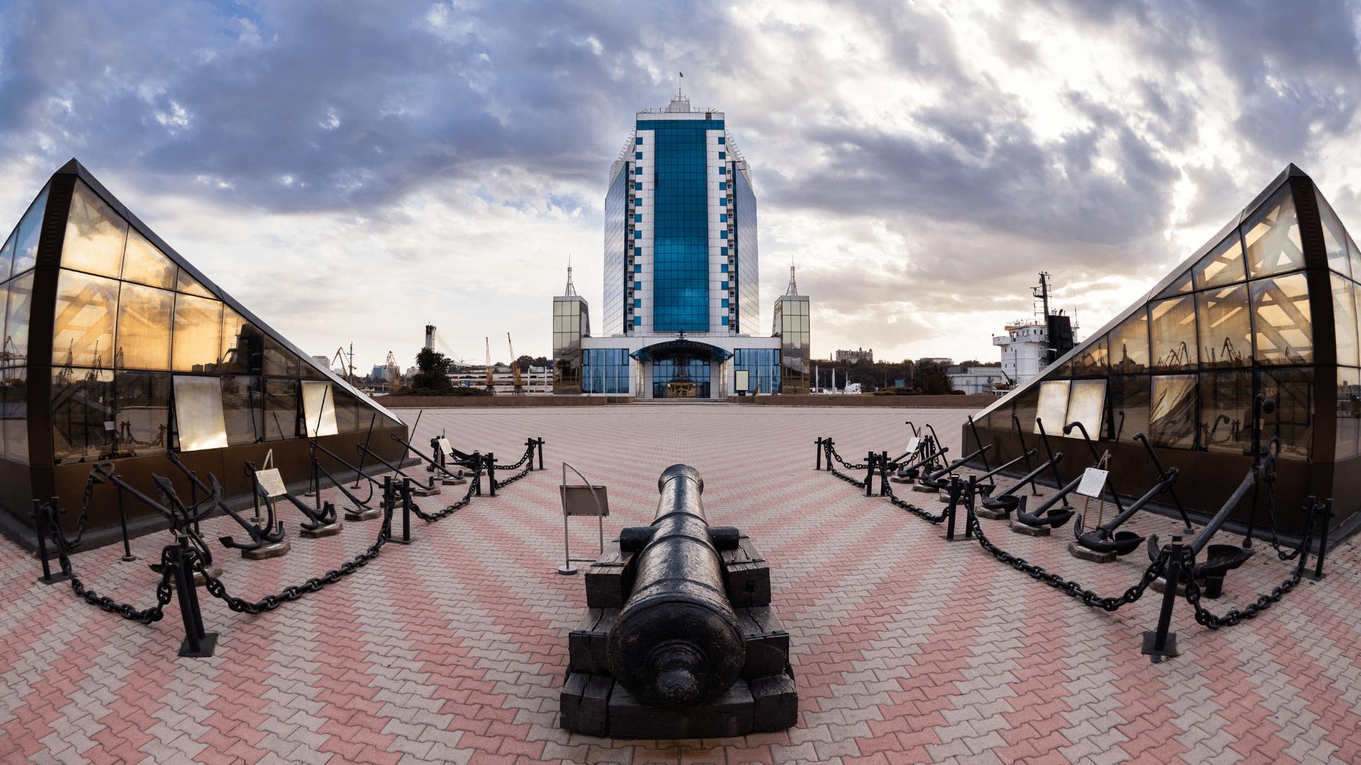 Modernus Odesos uostas