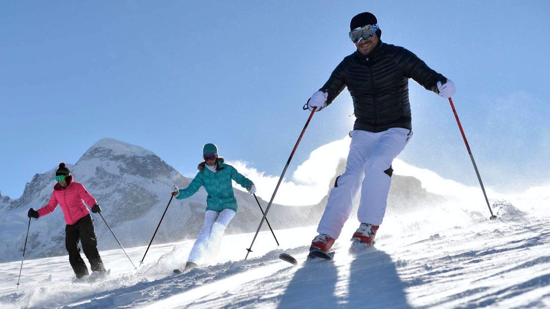 Červinija — vienas didžiausių slidinėjimo kurortų Alpėse