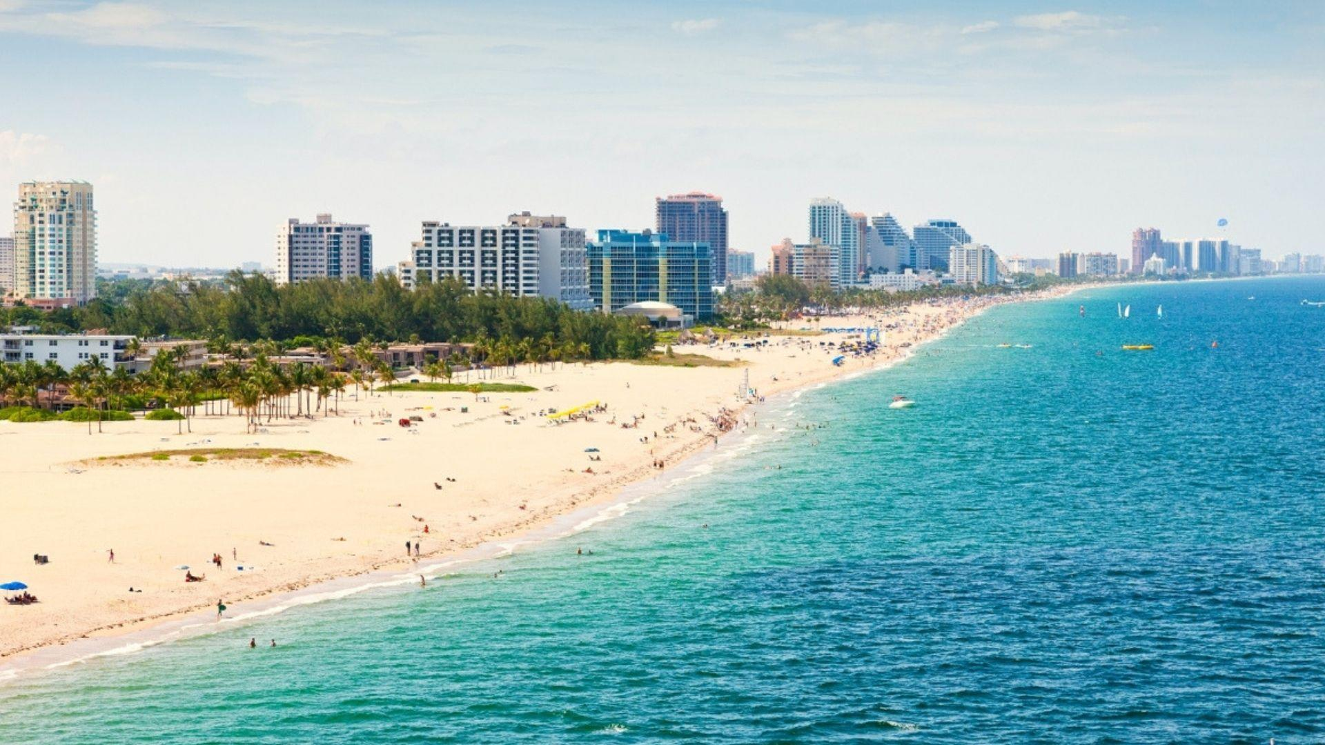 Fort Lauderdale žavingas paplūdimys