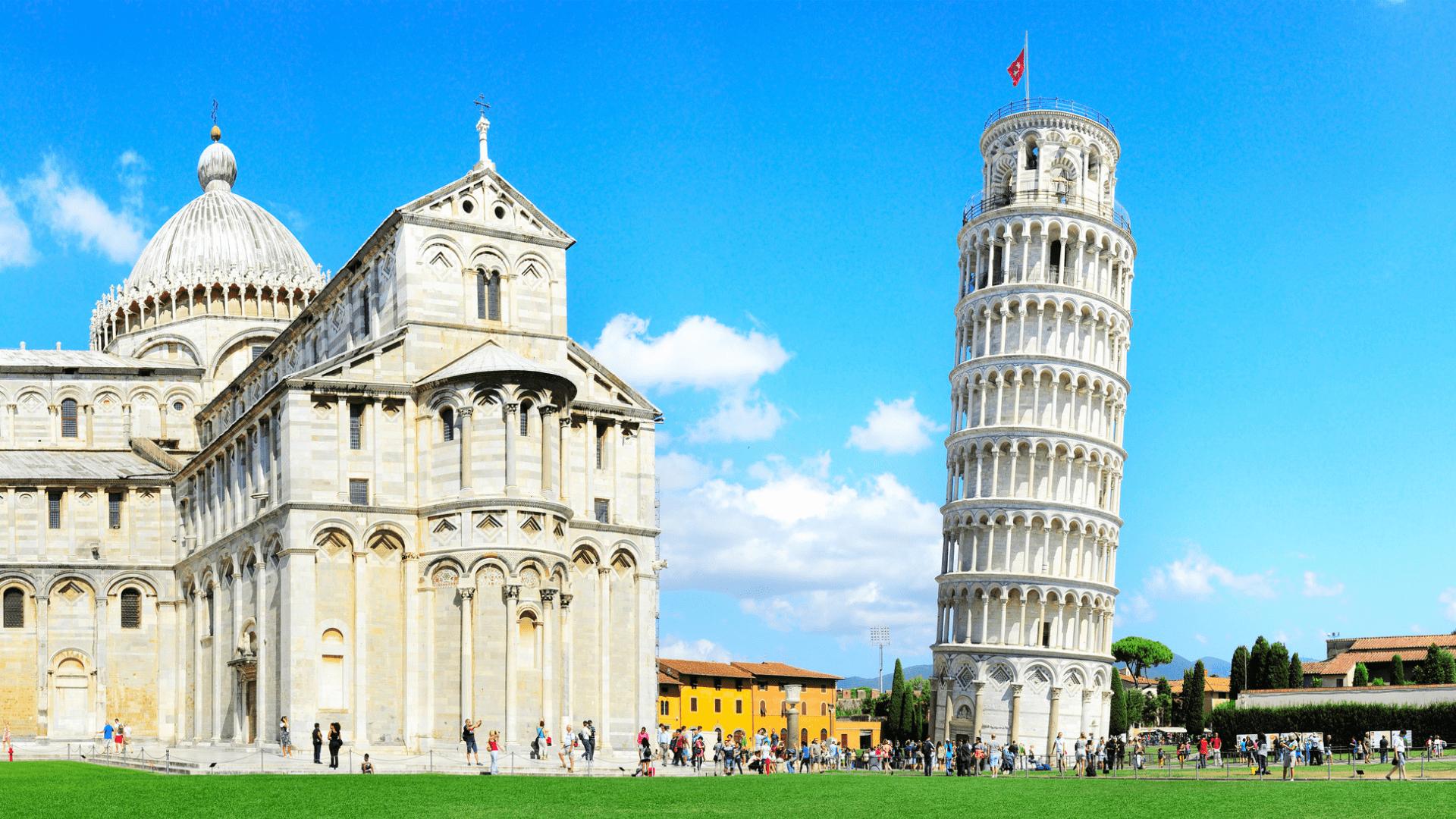 Pizos bokštas, Italija