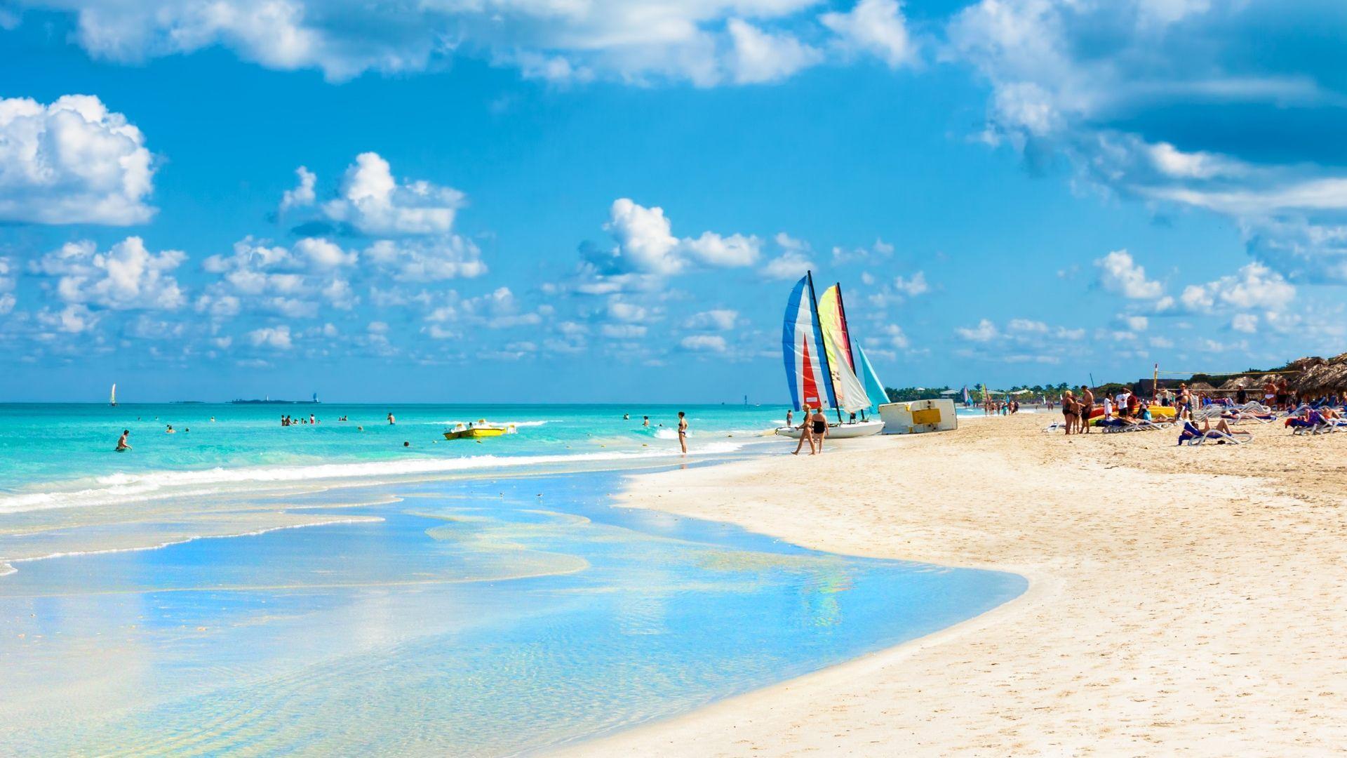 Įspūdingo grožio Kubos paplūdimys