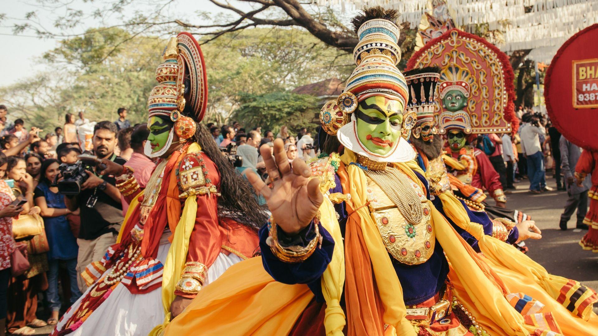 Spalvingi karnavalai - Indijos kultūros dalis