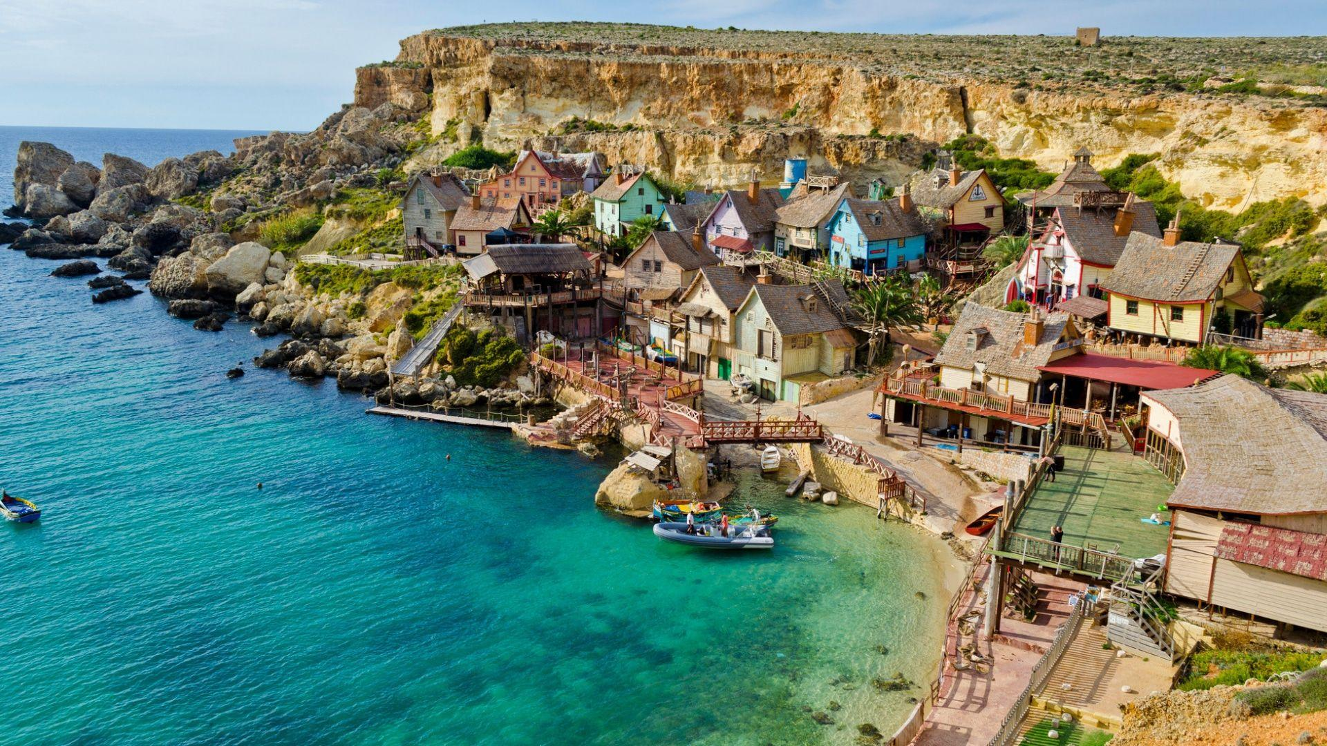 Popeye kaimelis Maltoje