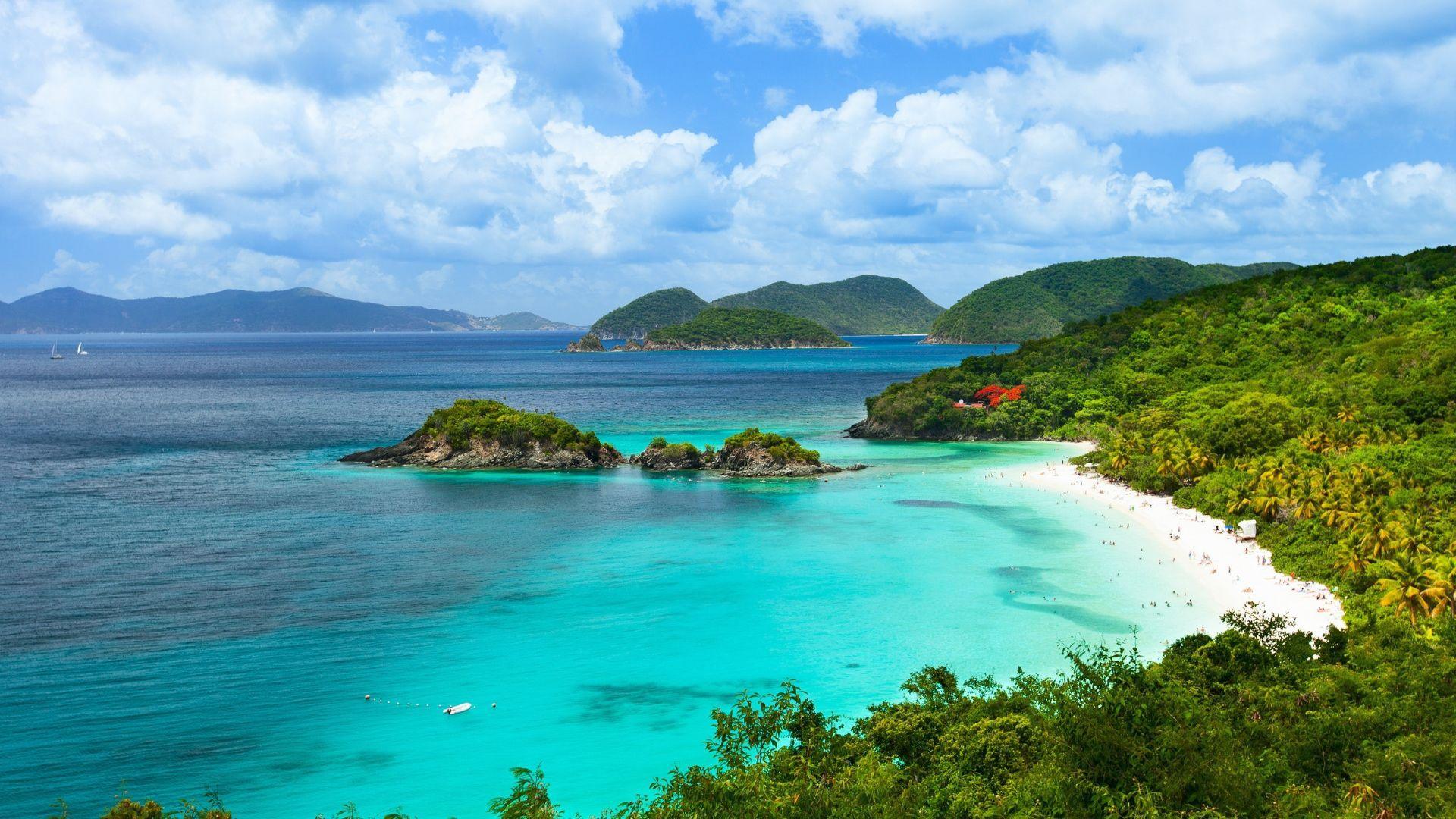 Šv. Jono salos įlanka, Mergelių salos